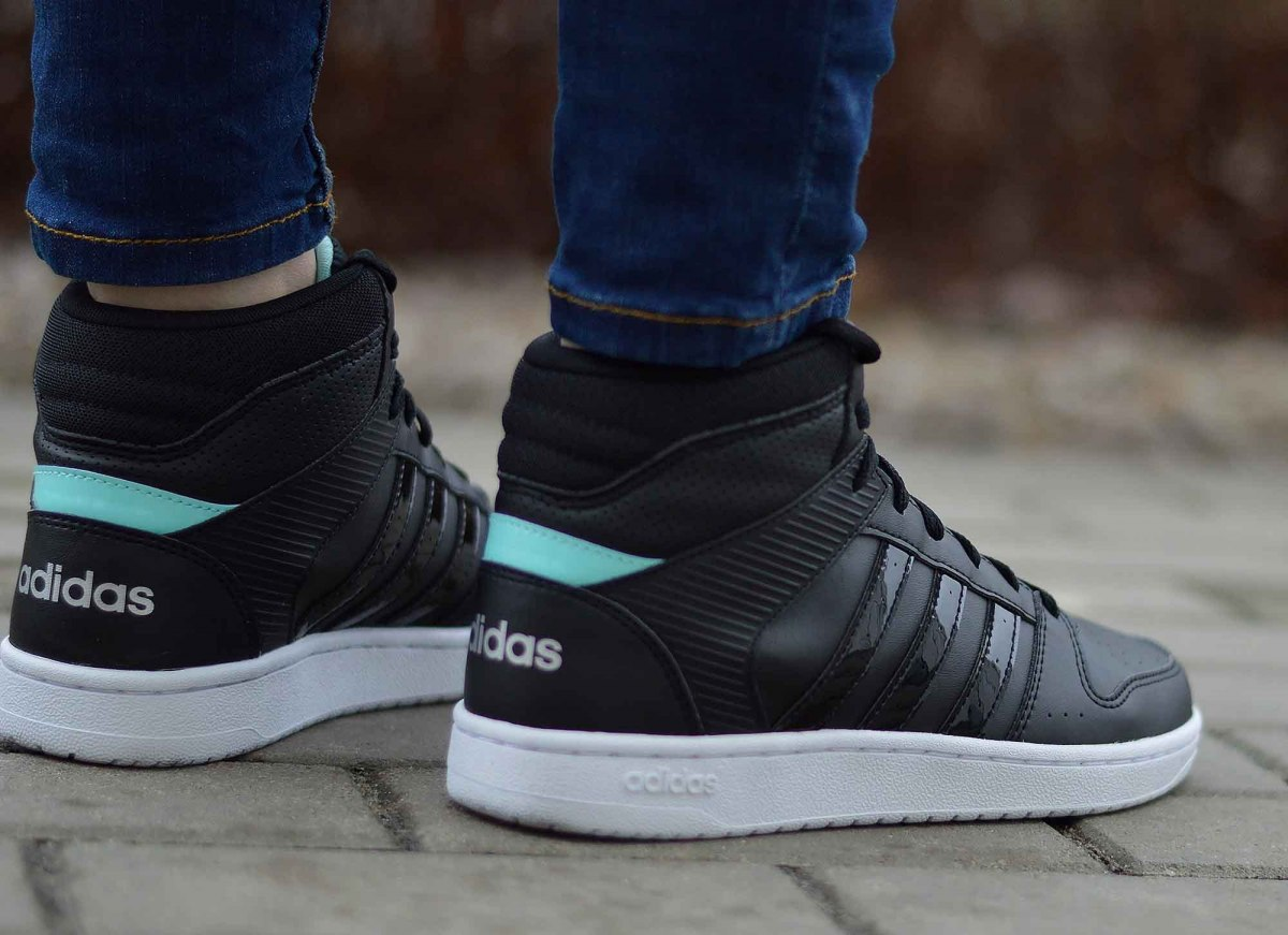 Details about Adidas VS Hoopster MID B74237 Women's Sneakers